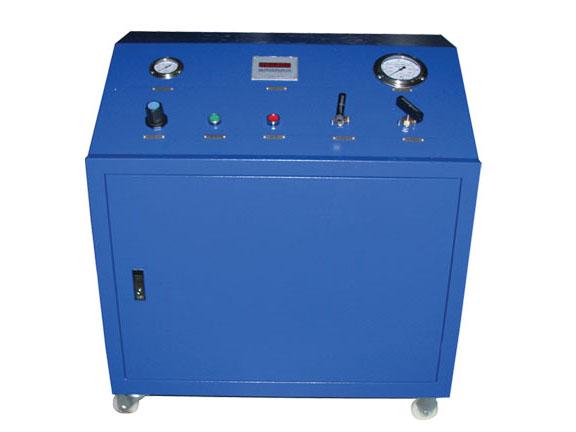 带压力控制器气体增压系统