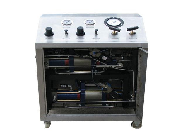 双泵串联气体增压系统