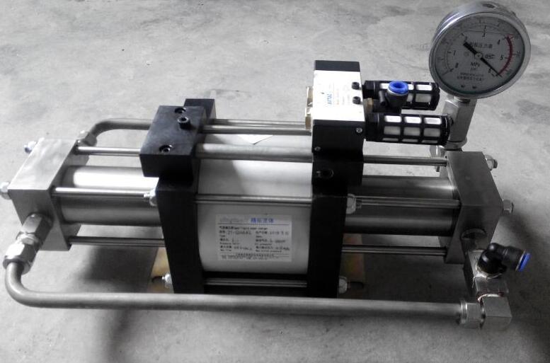 气液增压泵厂家分享如何制作安全阀在线校验仪?