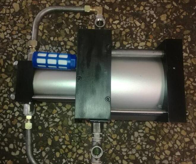 气体增压泵要注意充气安全